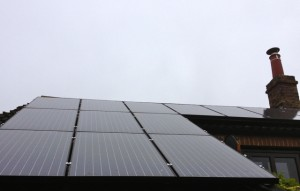Our solar panels.