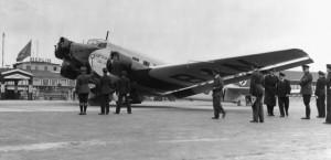 Tempelhof aerodrome in the 1930s