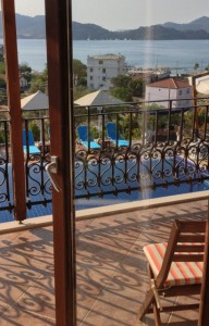 View from Badem Tatil Ev, Selimye. One of Exclusive Escapes's small hotels