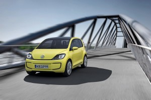 Volkswagen electric E-Up - electric car, green fuel