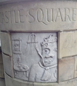 Dylan memorial in Swansea