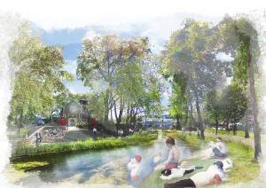 Seurat sur Fleet: could London's lost river flow through St Pancras once more?