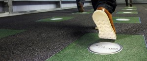 Generating energy from footsteps – West Ham Tube station