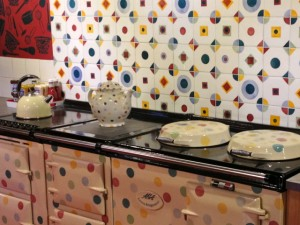 Aga in Emma Bridgewater factory cafe