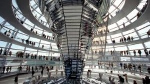 Norman Foster's glass dome on the Reichstag.