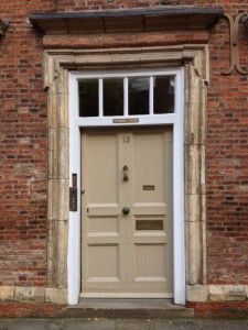 Old York door - there'll soon be an app for it