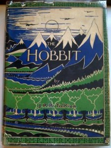 Book end - Hobbit first edition