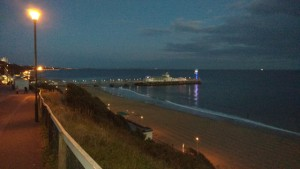 Bournemouth on a balmy September Conference night, 2015