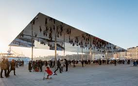 """The Norman Foster designed """"Sunshade"""" in Marseille"""