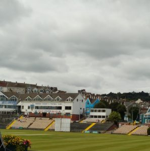 St Helens, Rugby and cricket ground, Swansea. July 2016. (Credit - the writer.)